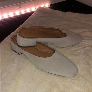 Zara slip on shoes